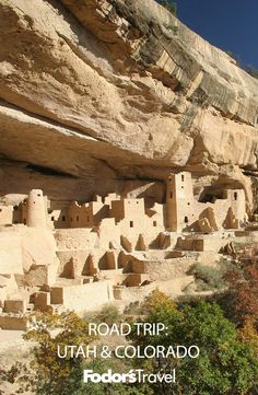You'll get to experience two of Utah's best parks, and, a few hours away, Colorado's Mesa Verde. #roadtrip #nationalpark #colorado #utah #mesaverde