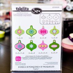 Sizzix Triplits Ornaments