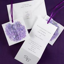 Vibrant Hydrangea - Invitation