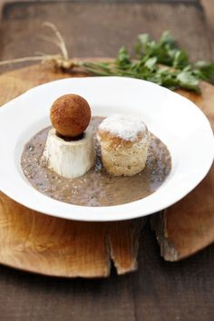 If you are short on time, grill a fillet but if you would like to spend some time in the kitchen, try this traditional Cape recipe for King's Bread Soup. It is rich and hearty, but makes for an elegant combination with the 2018 La Motte Millennium. Kings Bread, Haricot Beans, Cassia Bark, Bread Soup, Oven Pan, Soup Plating, Oven Roast, Soup Recipes, Cape