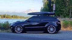 Stanced Range Rover Evoque on Vossen wheels Range Rover Evoque, Range Rover Sport, Super Sport, Automobile, Luxury Suv, Hot Rides, Car Car, Hot Cars, Exotic Cars