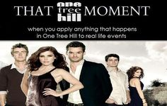 THAT OTH MOMENT - this is me all the time @Katie Hobson hahahahahaha
