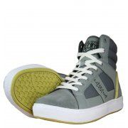 Jack & Jones Fang Mens Trainers in Castor Grey - official sponsors of the Danish 2012 Olympic team.  Visit www.hypedirect.com