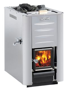 Woodburning stove Harvia 20 ES Pro S - Sauna Heater, Stove Heater, Stove Oven, Wood Burning Stoves Uk, Wood Stoves, Sauna Kits, Sauna Ideas, Traditional Saunas, Outdoor Sauna