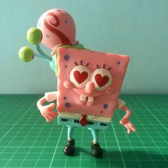 26 отметок «Нравится», 5 комментариев — Niaga? (@equal_store) в Instagram: «#ForSale #SpongebobSquarepants produksi #Viacom tahun #2013 #WYSIWYG Kondisi: LOOSE. Tinggi: 10cm.…»