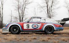 1974 Porsche 911 RSR Turbo Carrera 2.14 Martini Livery