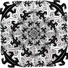 M.C.Escher. 1956 426