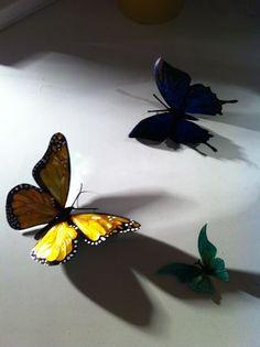 Instructables: Tin butterflies