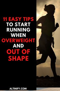 11 Easy Tips to Start Running When you are out of Shape! : Tag a friend like save? Running Plan For Beginners, Running Tips, Workout For Beginners, Learn To Run, How To Start Running, How To Run Faster, Running Challenge, Running Routine, Lose Weight Running