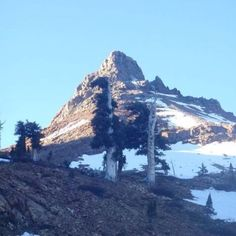 Empire Peak in Mineral King....I just summitted that bad boy today 6/6/12