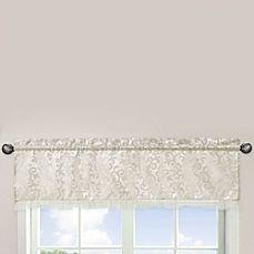 image of Sweet Jojo Designs Victoria Window Valance