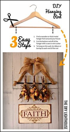 3 easy steps are between you and your DIY floral wall hanging. Display a sentimental arrangement or just add a new dimension of vintage beauty to your wall. Easy Diy Crafts, Diy Craft Projects, Craft Ideas, Diy Ideas, Decor Ideas, Crafts For Teens To Make, Crafts To Sell, Biscuit, Do It Yourself Crafts
