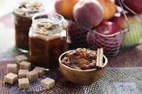 Lacto-fermented Cinnamon-Peach Chutney