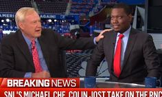 MSNBC's Chris Matthews asks SNL anchor Michael Che who his favorite black comedian is | Daily Mail Online