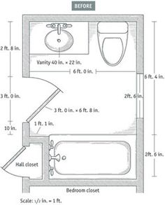 Three Quarter Bath Floor Plan Small Bathroom Pinterest Design Galleries And Sinks
