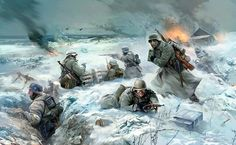 Tomorrow sunny art soldiers the germans the german army war fight battle Home Decoration Canvas Poster inch Silk Poster wall decor Nagasaki, Hiroshima, Military Art, Military History, Fallout Wallpaper, Battle Of Moscow, Eastern Front Ww2, Story Of The World, Art Pictures