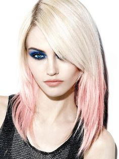 Ulzzang pink highlights hair 3 pinterest pink streaks pink hair goes mass market pmusecretfo Images