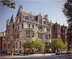 Burrage Mansion, a 105 year old brownstone located in downtown Boston