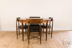 Vintage Retro G Plan Fresco Extending Teak Dining Table And 4 Chairs