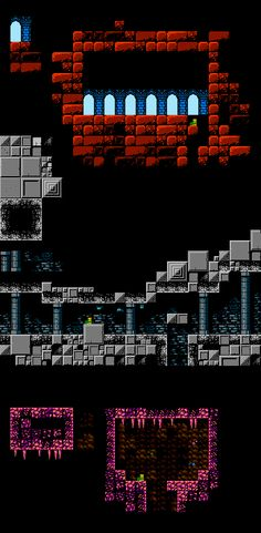 #NES palette for #FrogTale Much needed cleanup and redesign of my tiles #pixelart #gamedev #indiegamedev #indiegames