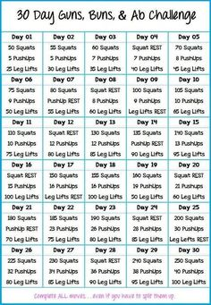 30 day calf raises challenge - Google Search