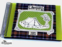 Personalisiertes  Geschenk Camper, Camping-Album,