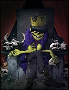 Photo of Murdoc for fans of Gorillaz 22625636 Murdoc Gorillaz, Gorillaz Art, Gorillaz Wiki, Damon Albarn, Jamie Hewlett Art, 2d And Murdoc, Sunshine In A Bag, Monkeys Band, Russel Hobbs