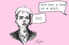 Too Queer for Your Binary: Everything You Need to Know and More About Non-Binary Identities. Also, I just really like this image. Horne's Vocabulary: Queer means strange or odd. Two Spirit, Gender Binary, Gender Roles, Gender Performativity, Male Gender, Gender Issues, Gender Stereotypes, Riot Grrrl, Genderqueer