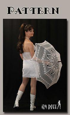 Ravelry: Wedding Lace Parasol - Crochet PDF Pattern pattern by Ira Rott