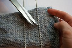 How to fix serious knitting errors #knitting