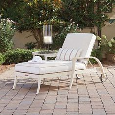 Outdoor lounge chairs and ottoman. | Outdoor Furniture Styles u0026 Trends | Pinterest | Tommy bahama Outdoor lounge au2026 : tommy bahama chaise lounge - Sectionals, Sofas & Couches