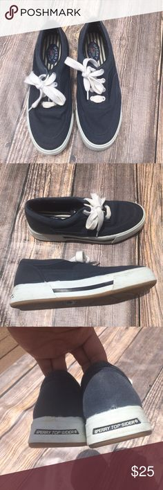 "Sperry men's top sider canvas shoes size 7.5 Sperry men's top sider canvas shoes size 7.5   🍥Bundle deals available (I carry various sizes and brands in my closet): 2 items 10% off, 3 items 15% off, 4 items or more 20% off.  🍥No trades, modeling, or lowball offers please. 🍥All reasonable offers accepted only through ""offer"" button. Please submit offer willing to pay as I prefer to not counteroffer. 🍥I appreciate you all. Happy Poshing! 2 2 Sperry Shoes Boat Shoes"