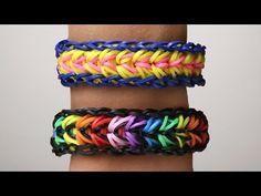 Rainbow Loom Nederlands - Feather Armband || Loom bands, rainbow loom, tutorial, how to - YouTube