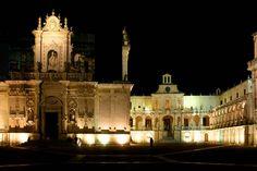Piazza Duomo. Lecce. Puglia.