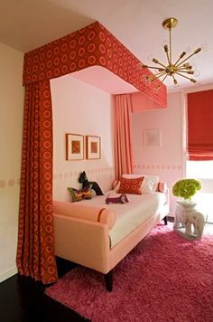 love this but the round pillow @ the foot of the bed would have to go in the floor....every night
