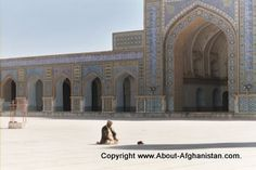 Mosques play an important role in religious events in Afghanistan. There is at least one mosque in each house, used for praying of course. Village mosques, can be used as a Islamic school room, or for local meetings, even entertaining guests.