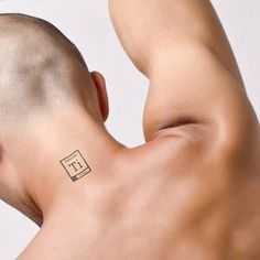 Placement for titanium symbol tattoo to mark scoliosis surgery