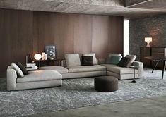 natuzzi canapé de couleur, joli canape d'angle de couleur gris