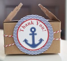 AHOY IT'S A BOY  Baby Shower or Birthday Favor by LolosBoutique, $7.95