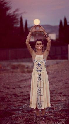 free people wedding, Erin Wasson Has a Vegas Wedding in Free Peoples March Lookbook
