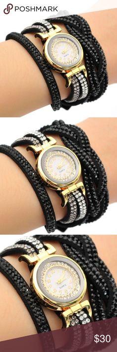 1pc Rhinestone Bracelet Women Watch Quartz 1pc Rhinestone Bracelet Women Watch Quartz Wristwatch Relogio Feminino Montre Femme Reloj Mujer Accessories Watches