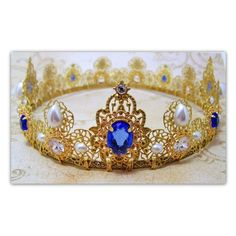 Items similar to Medieval Crown - Renaissance Crown, Medieval Jewelry,... ❤ liked on Polyvore featuring medieval, tiara and jewelry