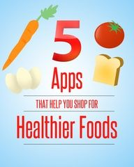 5 Apps That Help you Shop for Healthier Foods