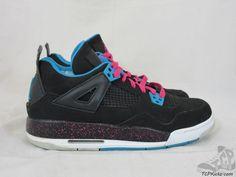 Vtg OG 2012 Nike Air Jordan IV 4 s sz 7y VII Black Pink Retro Bred 3e52d940a