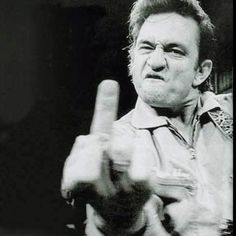 Johnny Cash. The Man in Black says Pop Country sucks!