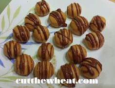 Low carb low sugar peanut butter balls