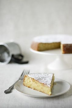 meyer lemon cake - dreaming of this on a warm spring afternoon.