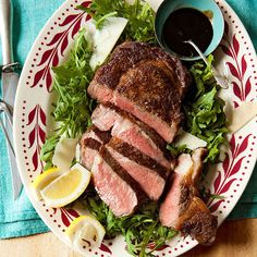 Steak with Tangy Glaze