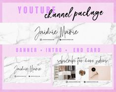 Youtube Banner Template, Youtube Banners, Youtube Banner Backgrounds, Youtube Names, Youtube Youtube, Free Youtube, Backgrounds Girly, Backgrounds Marble, Youtube Design