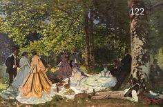 LA COLLECTION MYTHIQUE À PARIS La fondation Louis Vuitton expose une des collections d'art moderne les plus célèbres au monde, celle de Sergueï Chtchoukine. // Le Déjeuner sur l'herbe, Claude Monet (1866). Sergueï Chtchoukine en 1913.
